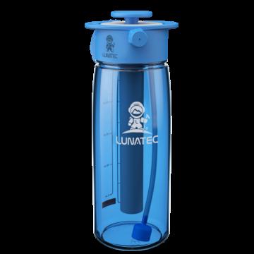 Blue hydration spray bottle