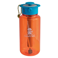 Orange hydration spray water bottle